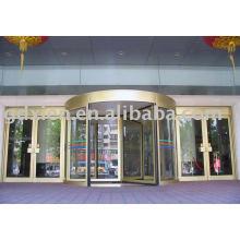 Puerta giratoria axial de 3-4 alas