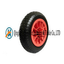 "PU Foam Wheels with Plastic Center 14""X3.50-8"