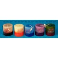 Duftkerze Stumpenkerze Color Scented Candles
