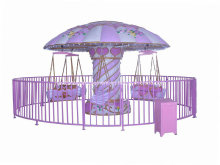 Amusement Equipment Pink Flying Chairs (NC-LE08)
