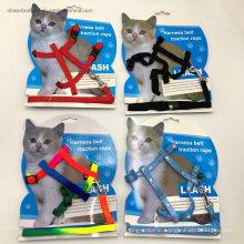Hot Pet Supplies Nylon Rope Adjustable Strap Cat Leash Cat Harness