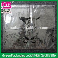 Cloth packaging bag with air hole opp plastic bag