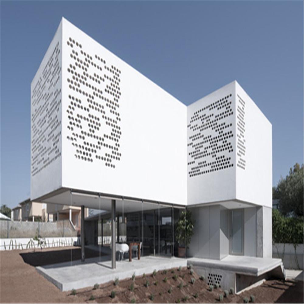 Architectural Aluminum Cladding Panels : Architectural aluminum cladding perforated panels china