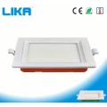 Rechteckige LED-Panel-Leuchte für das Schlafzimmer zu Hause