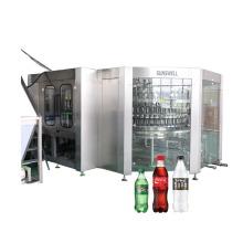 Установка для розлива газированной промывки и укупорки