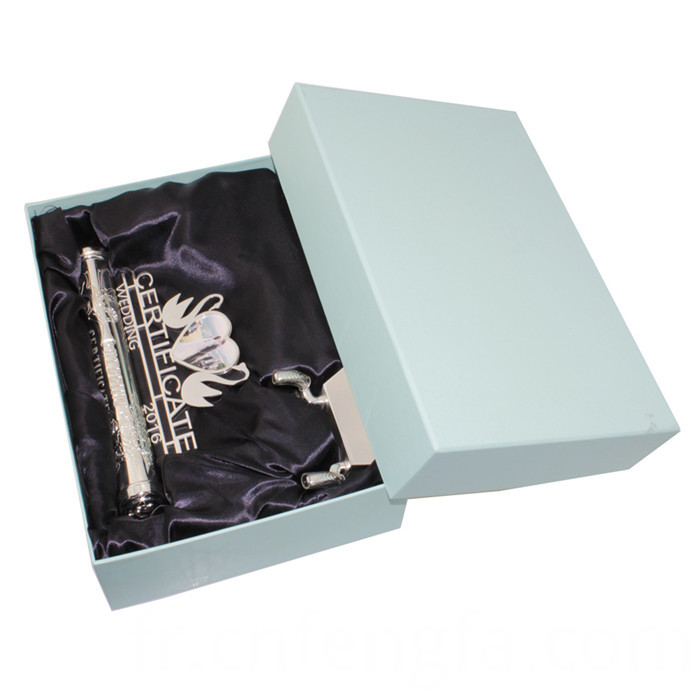 Marriage Wedding Certificate Holder With Photo Frame