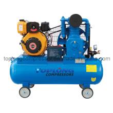 Gasolina gasolina diesel impulsado bomba de aire del compresor de aire (td-0.53 / 12)