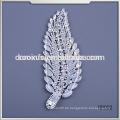 Großhandel Kristall Rhinestone Baum Blatt Verschönerung appliques