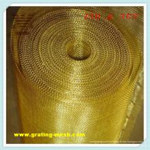 Métal d'or / approbation décorative de maille métallique ISO