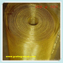 Gold Metal/ Decorative Wire Mesh Approval ISO