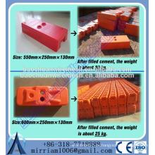 Temporal, plástico, construcción, pared, cerca