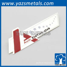 Etiquetas de produtos metálicos para bolsas ou roupas