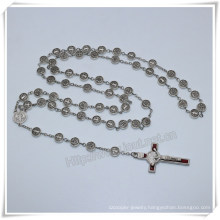 9mm Metal Beads Rosary/High Quanlity Religious Item/Catholic Rosaries (IO-cr400)