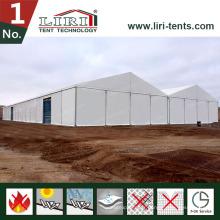 Auvent portatif ignifuge de tente d'entrepôt de tente de Liri