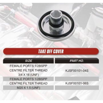 Surge Tank Billet Cap For Racing Auto