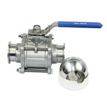 Шаровой клапан 3PC без удержания из нержавеющей стали