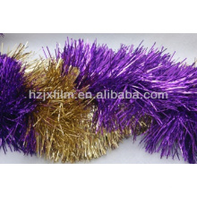 Metalizado Tinsel Garland Film