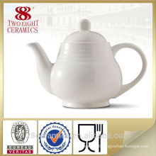 Grace tea ware, white ceramic tea pot