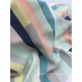 Colorful 100% Polyester Printed Girls Dresses Fabric