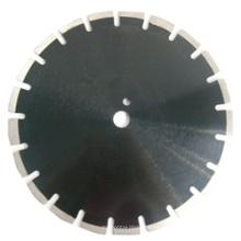 Hoja de sierra soldada con láser de 35HP para corte de asfalto