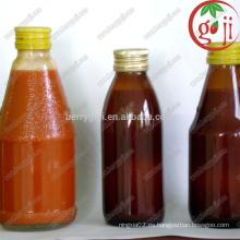 Concentrado de jugo de Wolfberry / concentrado de jugo de goji / origen de Ningxia