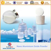 Características químicas estables No. N ° 1950 Polvo de óxido de aluminio nano