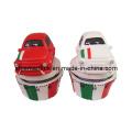 60min Polyresin Skulptur Italien Auto Dekoration Mechanische Küche Timer