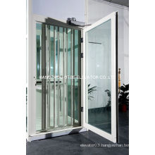 Aluminum alloy fame glass folding door