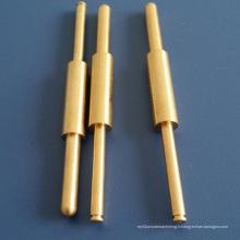 Usine d'alimentation Custom faire des pièces de laiton en Chine de tournage CNC