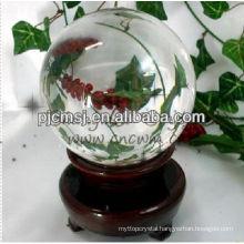 Transparent Large Decorative Crystal Balls For Feng Shui Decoration