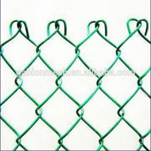 Heiß getaucht galvanisierter Kettenglied Zaun und verkappt Kettengliedzaun mit billigem Preis