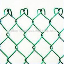 Fenda de ligação em cadeia galvanizada quente e vedação de ligação de corrente baixa com preço barato