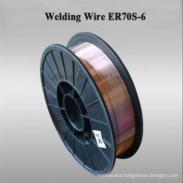 Er70s-6 CO2 Gas Shielding MIG Welding Wire in Diam 0.8/0.9/1.0/1.2/1.6mm
