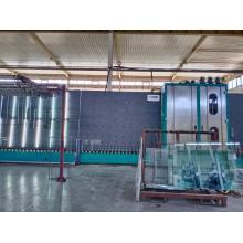 Doppelglas Press- und Waschmaschine