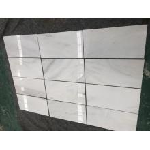 silk white marble tiles