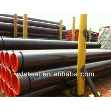 api5l X65 galvanized corrugated culvert pipe line price