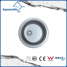 Round Stainless Steel Single Kitchen Sink (ACS2022M)