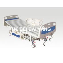 (A-56) - Lit d'hôpital mobile fonctionnel à double fonction avec tête de lit ABS