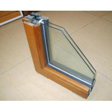 Composite Window Double Glazed Aluminum Wood Clad Window