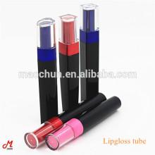 Ensemble de série de tubes de lipgloss de luxe pour corps noir