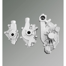 Metal Casting Technology Aluminum Casting Water Pump Housing