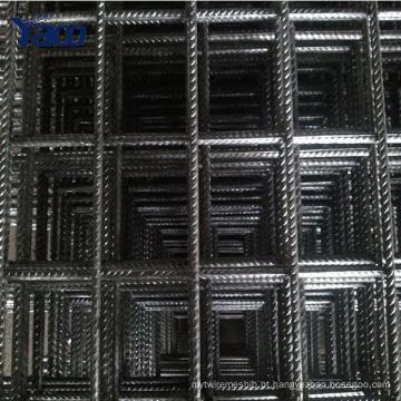 150x150 malha de reforço de concreto, malha de reforço de aço para fundações de concreto