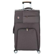 Estuche para equipaje con ruedas incorporado de poliéster suave de 4 ruedas
