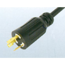 USA UL 3-conductor Locking Cord