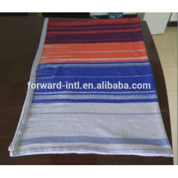 2015 new design pope art stripe cashmere wholesale blanket