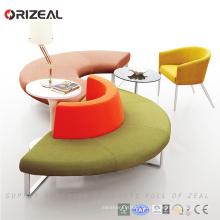 Orizeal canapés modulaires sectionnels géants orange avec des sofas sectionnels uniques de salon de dossier à vendre (OZ-OSF022)
