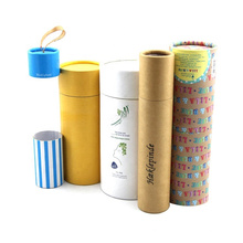 Cylinder Packaging Box for Essential Oil or Candle