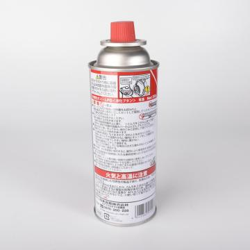 Cartuccia di gas 400ml / cartuccia di gas butano