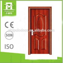 Puerta de madera de melamina 2018 con varios colores zhejiang exportación hecha