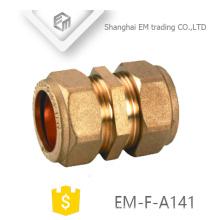 EM-F-A141 Gleichschnellverbinder Messing-Rohrverschraubung für PVC-Rohr